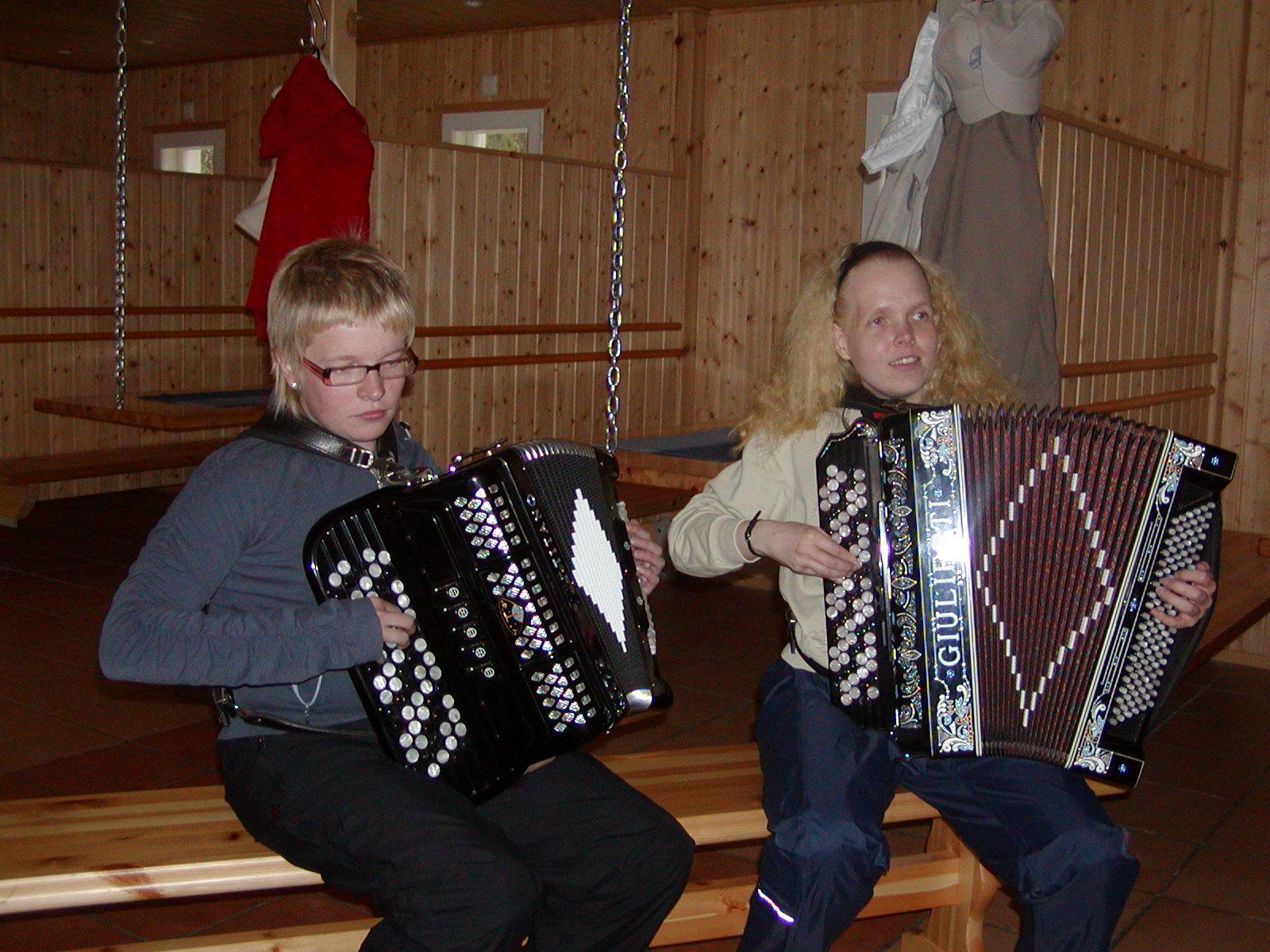 Kajaani, Ruuhijärvi 2010, Kristiina Sirviö ja Katja Halonen