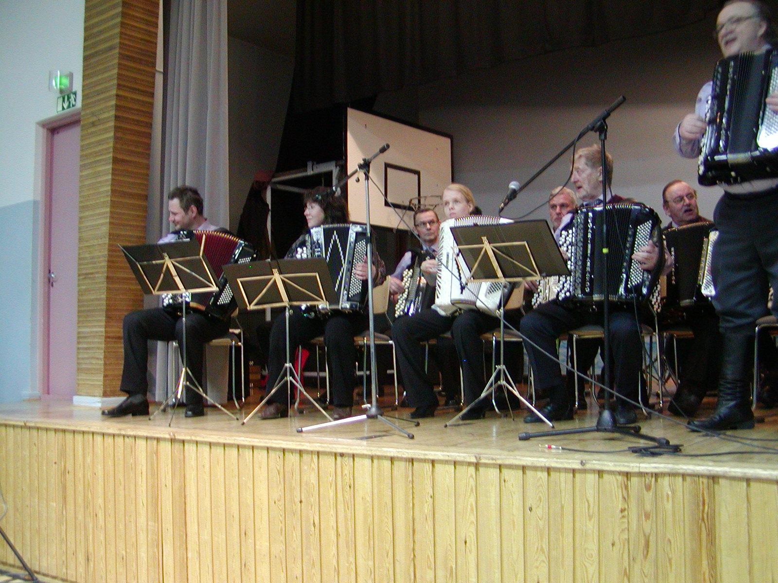 Sotkamon kansanmusiikkikonsertti 2012